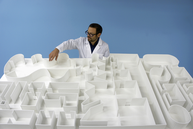 Pedro Reyes, The Museum of Hypothetical Lifetimes SANATORIUM, 2011